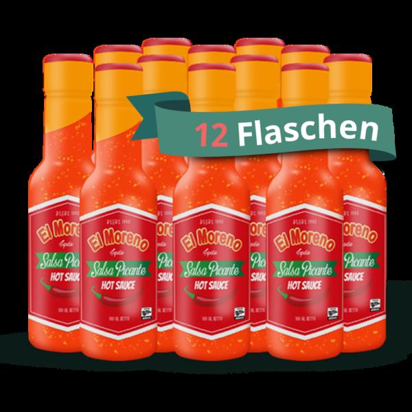 El Moreno Chilisauce kaufen - 12 Flaschen