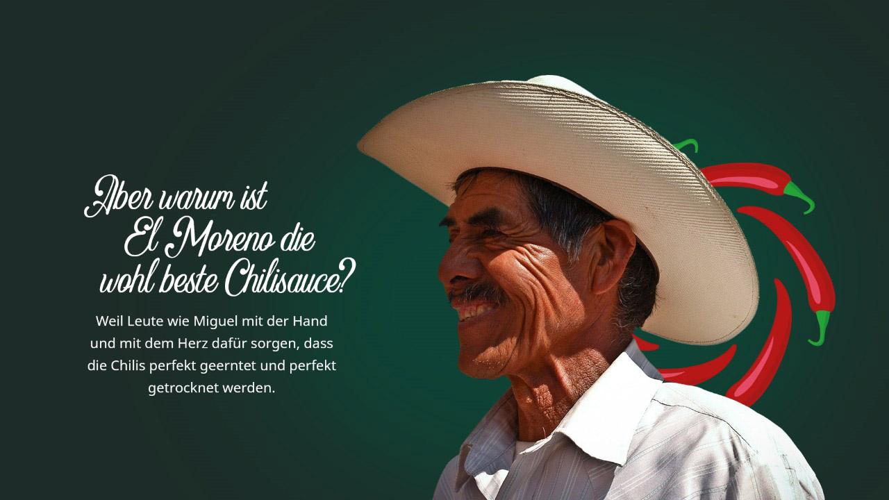 El Moreno Chilisauce - Miguel